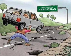 Charge - cerejeiras