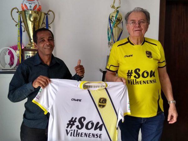 O preparador de goleiro Gilson Santana está de volta ao leão do Norte (Foto: Extra de Rondônia)